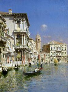 Санторо Рубенс В гондоле, Венеция