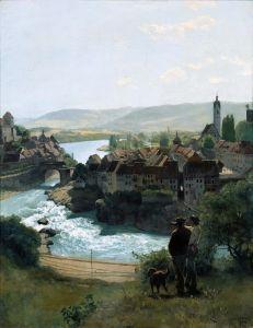 Тома Ганс Рейн в Лауфенбурге
