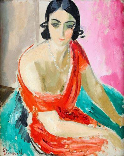 Портрет прима-балерины Донны