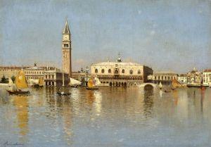 Санторо Рубенс Большой канал, Венеция №3