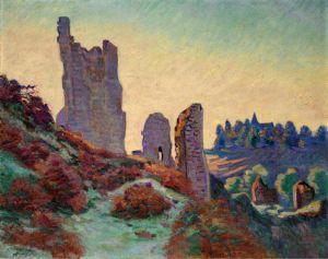 Гийомен Арман Руины замка в Крозан