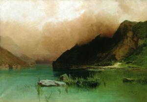 Мещерский Арсений Озеро Эзель-Ам в Дагестане