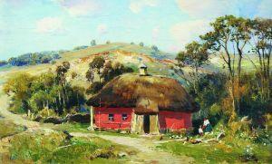 Українське мистецтво Червона хата