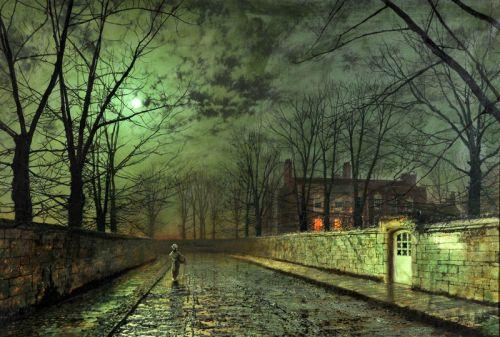 Серебряный лунный свет