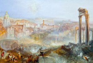 Тернер Вильям Современный Рим - Кампо Ваччино