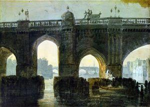 Тернер Вильям Старый Лондонский мост