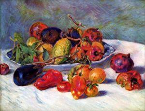 Ренуар Огюст Натюрморт с фруктами