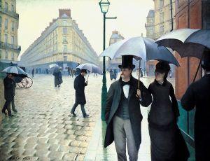 Кайботт Гюстав Дождь в Париже
