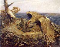 Орлиное гнездо над морем