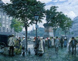 Фишер Поль Густав Цветочный рынок
