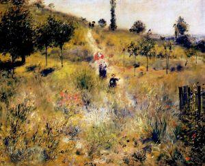 Ренуар Огюст Тропинка в высокой траве