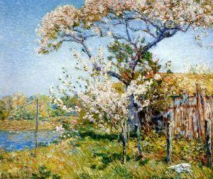 Гассам Чайльд Яблони в цвету