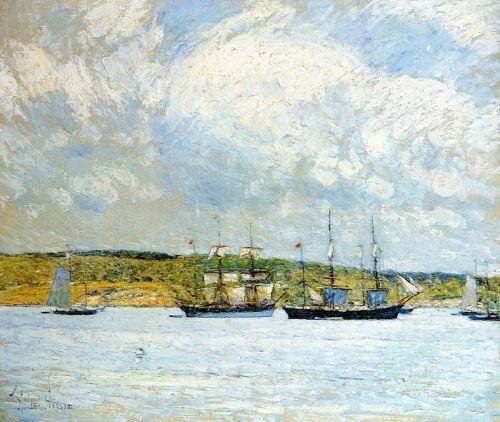 Парад с лодки