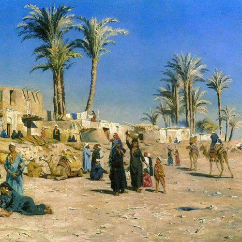 На окраине Каира