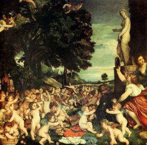 Вечеллио Тициан Поклонение Венере