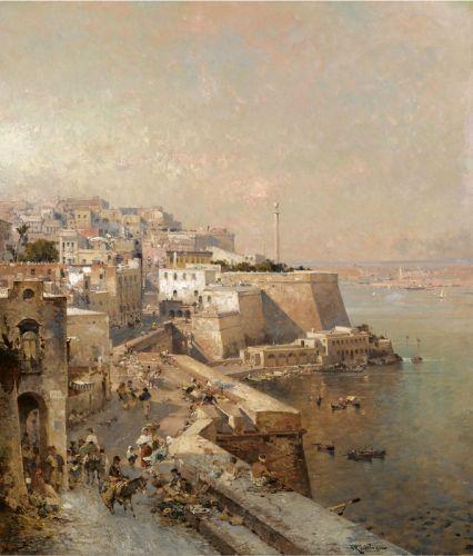 Manderaggio in La Valletta, Malta