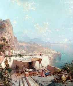 Амальфи, залив Салерно
