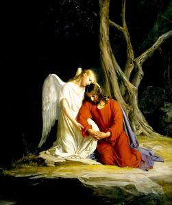 Блох Карл Генрих Христос в Гефсиманском саду