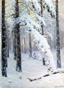 Крижицький Костянтин Ліс взимку
