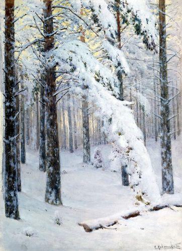 Ліс взимку