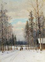 Зима у околицы