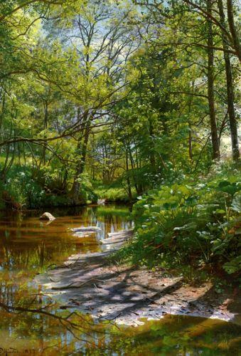 Річковий пейзаж
