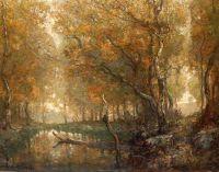 Мельничный пруд в Брэдбери