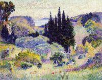 Кипарис, апрель