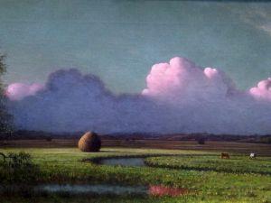 Солнце и тень, Ньюберские болота