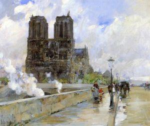 Гассам Чайльд Нотр Дам. Париж