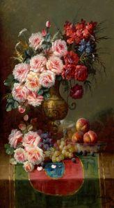Карлье Макс Натюрморт с цветами