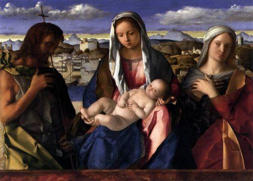 Мадонна и младенец с Иоанном Крестителем и святыми