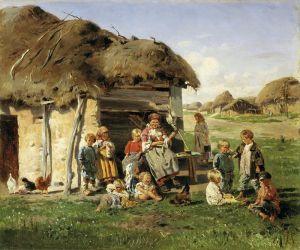 Маковский Константин Крестьянские дети