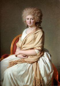 Давид Жак-Луи Портрет Анны Марии Луизы Теллюсон, графини Сорси