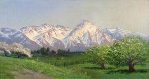 Кулмер Генри Лавендер Адолфус Горы Уасач в начале весны