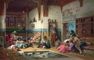 Нубийский рассказчик в гареме