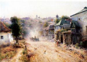Українські класики Вулиця в Умані