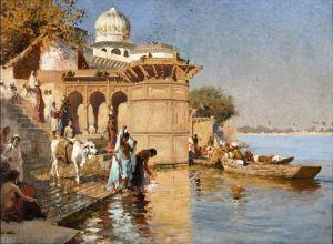 Уикс Эдвин Лорд Картина Нила, Матхура, Индия