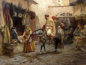 Бриджман Фредерик Артур Улица в Алжире