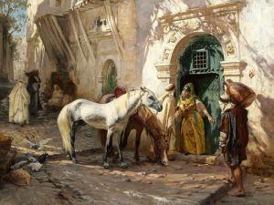 Бриджман Фредерик Артур Улицы Марокко