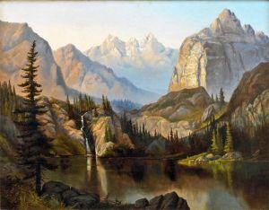 Кулмер Генри Лавендер Адолфус Озеро Флоренс, Каньйон Биг Коттонвуд, штат Юта