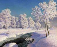 Зимнее утро в Энгадина