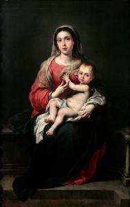 Мурильо Бартоломе Эстебан Мадонна и младенец