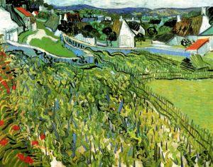Ван Гог Винсент Виноградники с видом на Овер