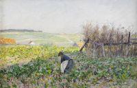 Французский пейзаж в Этапле