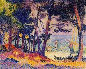 Сосновый лес, Прованс