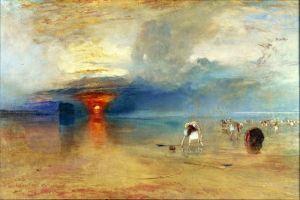 Тернер Вильям Песчаный пляж в Кале