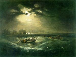 Тернер Вильям Рыбаки в море