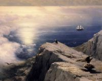 Скалистый берег Эгейского моря