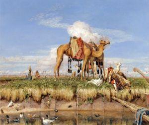 Льюис Джон Фредерик На берегах Нила, Верхнего Египта